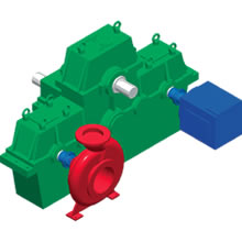 Norgear Marine Hybrid Propulsion Gearboxes